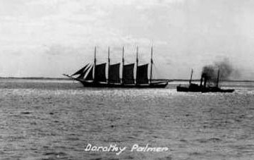 One of 13 sister ships of the Davis Palmer, the Dorothy Palmer sank off Cape Cod in 1923. (Cape Cod Times)