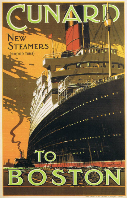 Cunard to Boston