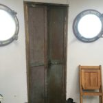 Here's the Watch Deck (kitchen) door, from the inside.